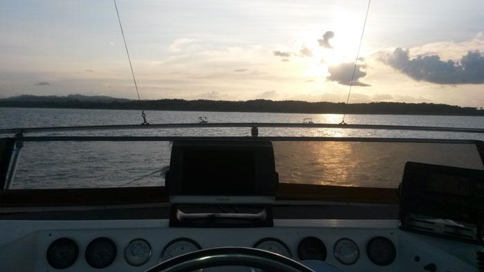 Boat SunsetArtadecer del bote